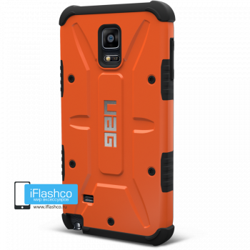 Чехол Urban Armor Gear Outland для Samsung Galaxy Note 4 оранжевый