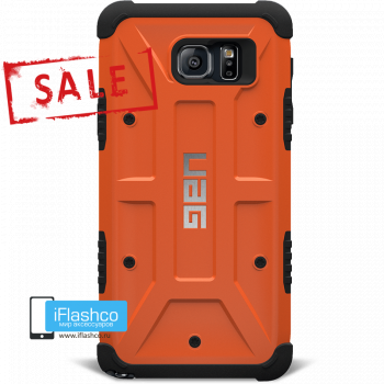 Чехол Urban Armor Gear Outland для Samsung Galaxy Note 5 оранжевый