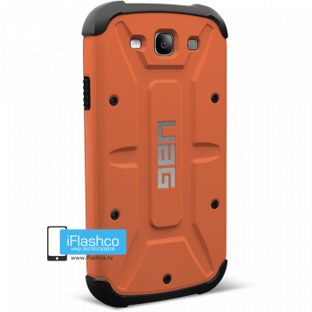 Чехол Urban Armor Gear Outland для Samsung Galaxy S3 оранжевый