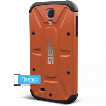 Чехол Urban Armor Gear Outland для Samsung Galaxy S4 оранжевый