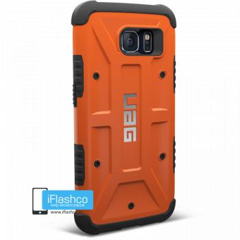 Чехол Urban Armor Gear Outland для Samsung Galaxy S6 оранжевый