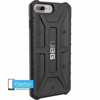 Чехол Urban Armor Gear Pathfinder Black для iPhone 7 Plus / 8 Plus черный