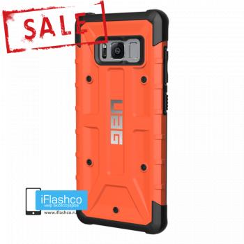 Чехол Urban Armor Gear Pathfinder Rust для Samsung Galaxy S8 оранжевый