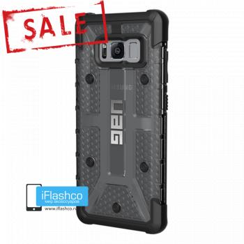 Чехол Urban Armor Gear Plasma Ash для Samsung Galaxy S8 черный прозрачный