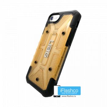 Чехол Urban Armor Gear Plasma Beige для iPhone 7 Plus / 8 Plus бежевый прозрачный