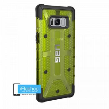 Чехол Urban Armor Gear Plasma Citron для Samsung Galaxy S8+ зеленый прозрачный