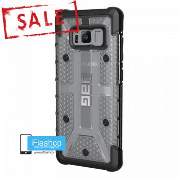Чехол Urban Armor Gear Plasma Ice для Samsung Galaxy S8 серый прозрачный