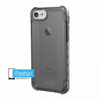 Чехол Urban Armor Gear Plyo Ash для iPhone 6 / 6s черный прозрачный