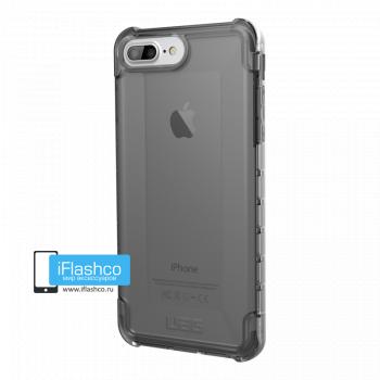 Чехол Urban Armor Gear Plyo Ash для iPhone 6 Plus / 6s Plus черный прозрачный