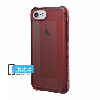 Чехол Urban Armor Gear Plyo Crimson для iPhone 6 / 6s красный прозрачный