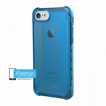 Чехол Urban Armor Gear Plyo Glacier для iPhone 6 / 6s синий прозрачный