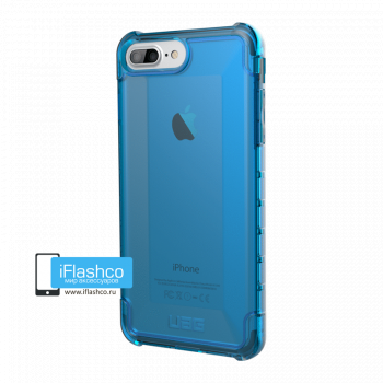 Чехол Urban Armor Gear Plyo Glacier для iPhone 6 Plus / 6s Plus синий прозрачный