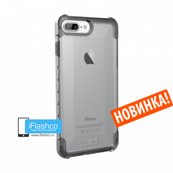 Чехол Urban Armor Gear Plyo Ice для iPhone 7 Plus / 8 Plus прозрачный