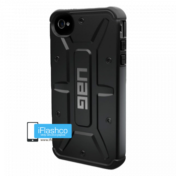 Чехол Urban Armor Gear Scout для iPhone 4 / 4S черный
