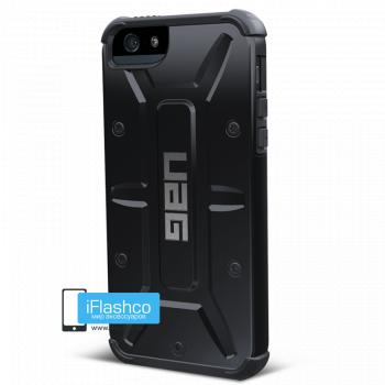Чехол Urban Armor Gear Scout для iPhone 5 / 5S / SE черный