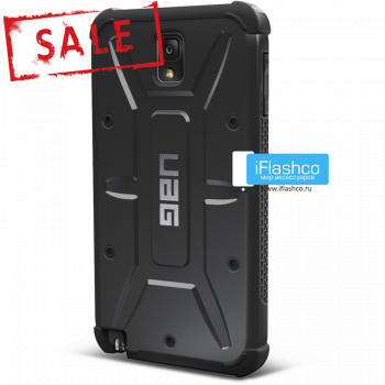 Чехол Urban Armor Gear Scout для Samsung Galaxy Note 3 черный