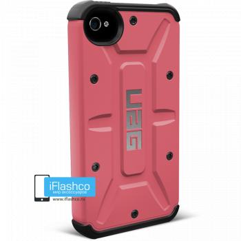 Чехол Urban Armor Gear Valkyrie для iPhone 4 / 4S розовый