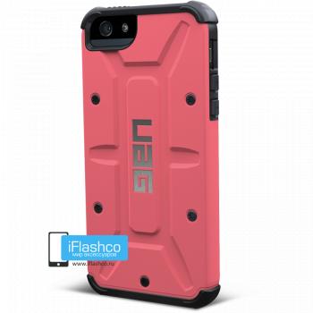 Чехол Urban Armor Gear Valkyrie для iPhone 5 / 5S / SE розовый