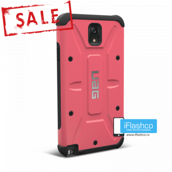 Чехол Urban Armor Gear Valkyrie для Samsung Galaxy Note 3 розовый