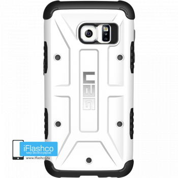 Чехол Urban Armor Gear White для Samsung Galaxy S7 Edge белый