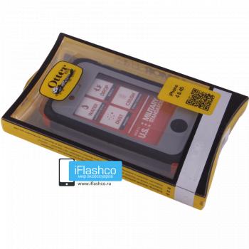 Чехол влагостойкий OtterBox Armor iPhone 4 / 4S оранжевый