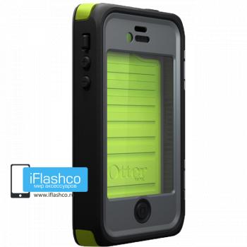 Чехол влагостойкий OtterBox Armor iPhone 4 / 4S зеленый