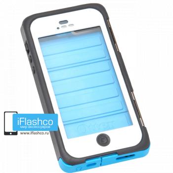 Чехол влагостойкий OtterBox Armor iPhone 5 / 5S голубой