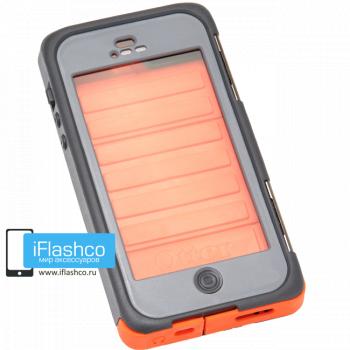 Чехол влагостойкий OtterBox Armor iPhone 5 / 5S оранжевый