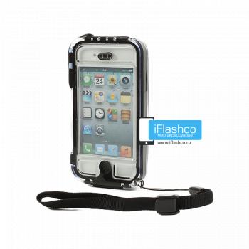 Чехол водонепроницаемый Griffin Survivor + Catalyst для iPhone 4 / 4S черный