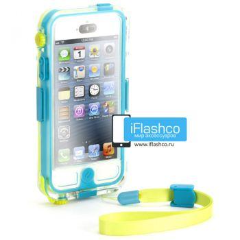 Чехол водонепроницаемый Griffin Survivor + Catalyst для iPhone 5 / 5S (голубой/желтый)