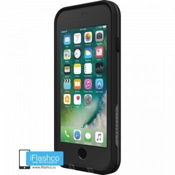 Чехол водонепроницаемый Lifeproof fre для iPhone 7 / 8 Asphalt Black