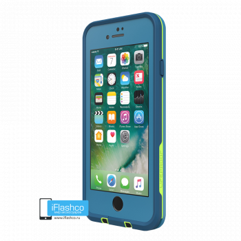 Чехол водонепроницаемый Lifeproof fre для iPhone 7 / 8 Banzai Blue