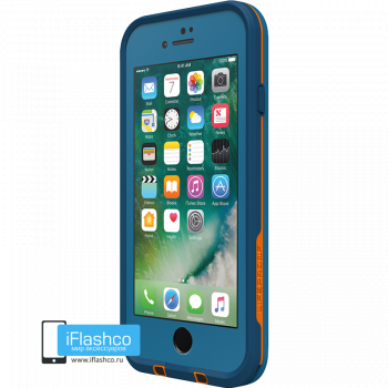 Чехол водонепроницаемый Lifeproof fre для iPhone 7 / 8 Base Camp Blue