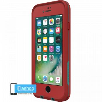 Чехол водонепроницаемый Lifeproof fre для iPhone 7 / 8 Ember Red