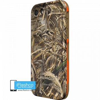 Чехол водонепроницаемый Lifeproof fre для iPhone 7 / 8 REALTREE MAX-5 ORANGE