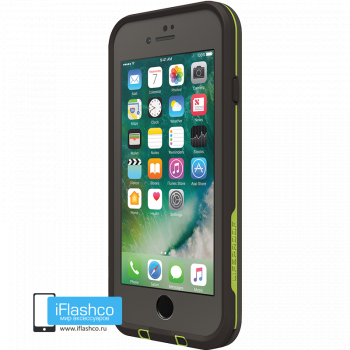 Чехол водонепроницаемый Lifeproof fre для iPhone 7 / 8 Second Wind Grey