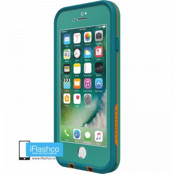 Чехол водонепроницаемый Lifeproof fre для iPhone 7 / 8 Sunset Bay Teal