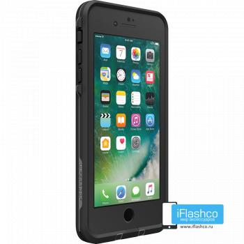 Чехол водонепроницаемый Lifeproof fre для iPhone 7 Plus / 8 Plus Asphalt Black