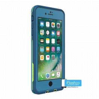 Чехол водонепроницаемый Lifeproof fre для iPhone 7 Plus / 8 Plus Banzai Blue