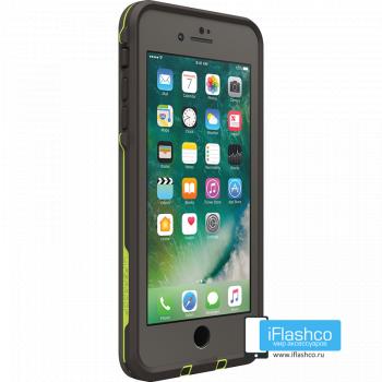 Чехол водонепроницаемый Lifeproof fre для iPhone 7 Plus / 8 Plus Second Wind Grey