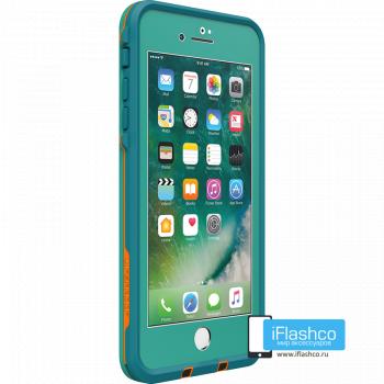 Чехол водонепроницаемый Lifeproof fre для iPhone 7 Plus / 8 Plus Sunset Bay Teal