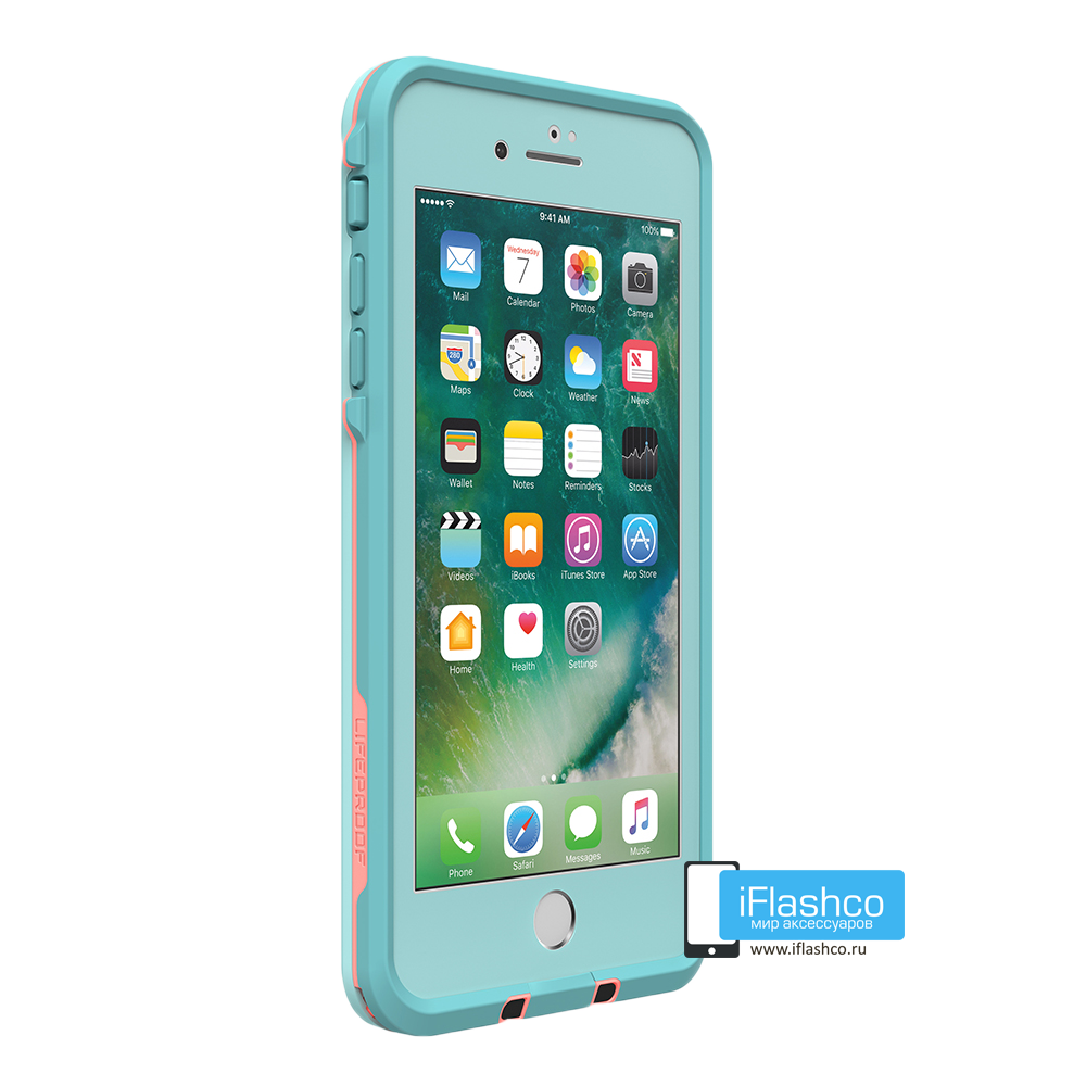 cheap for discount ffe0d cf105 Чехол водонепроницаемый Lifeproof fre для iPhone 7 Plus / 8 Plus Wipeout