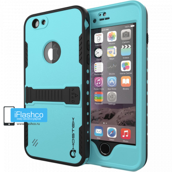 Чехол водонепроницаемый Redpepper для iPhone 6 / 6s бирюзовый