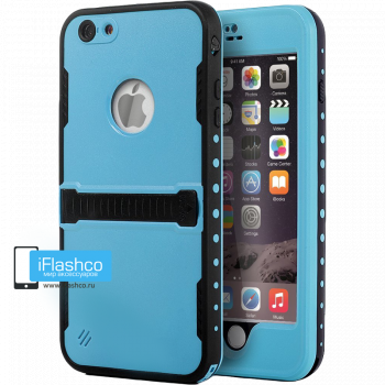 Чехол водонепроницаемый Redpepper для iPhone 6 / 6s голубой