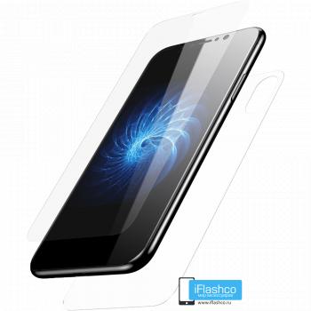 Комплект пленок iPhone X/Xs глянцевые