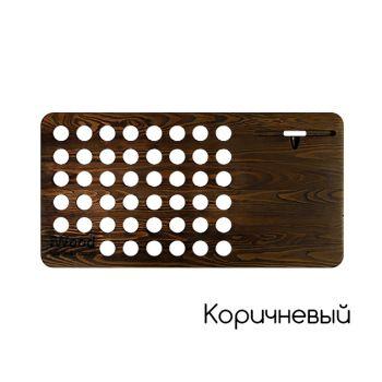 Мобильный рабочий стол из дерева iWood коричневый