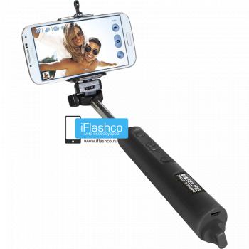 Монопод Bluetooth беспроводной с фокусом черный