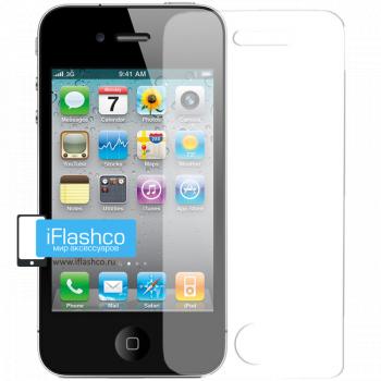 Пленка на экран iPhone 4 / 4S глянцевая