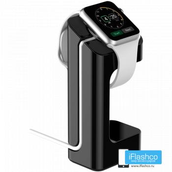 Подставка-держатель для часов Apple Watch 42 - 44 мм Black черная