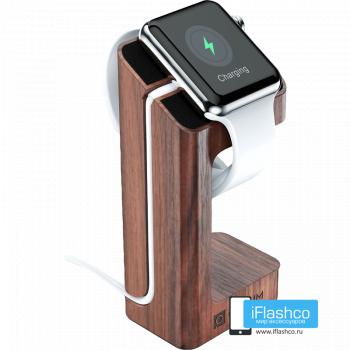 Подставка-держатель для часов Apple Watch 42 - 44 мм Wood цвет дерева